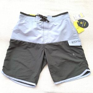 🆕 Body Glove Men's Scallop Swim Boardshorts
